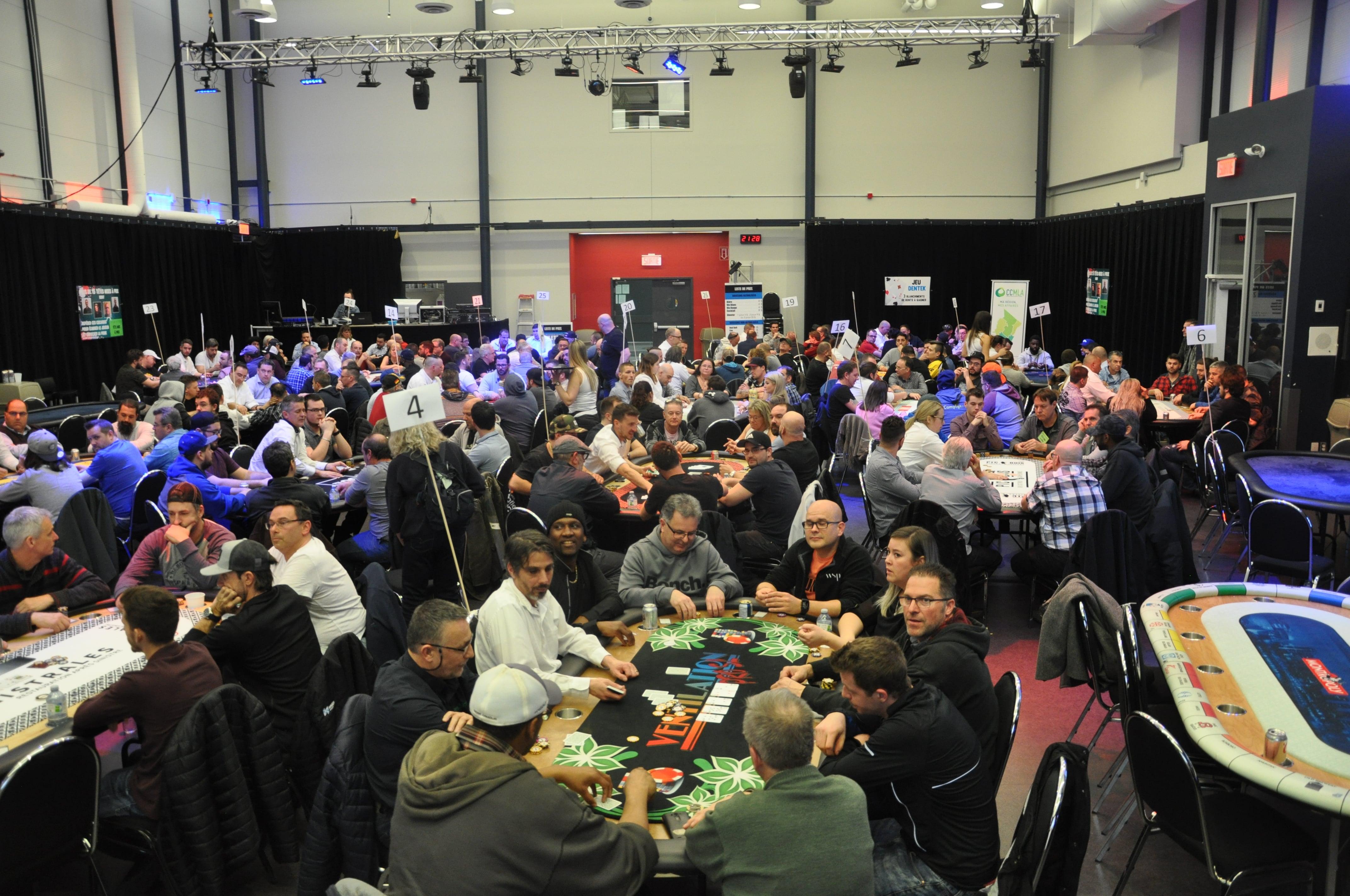 Tournoi poker Mars 2019