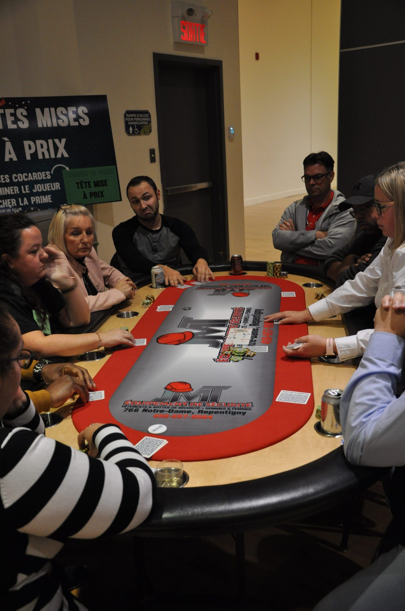 tournoi  Poker 2019