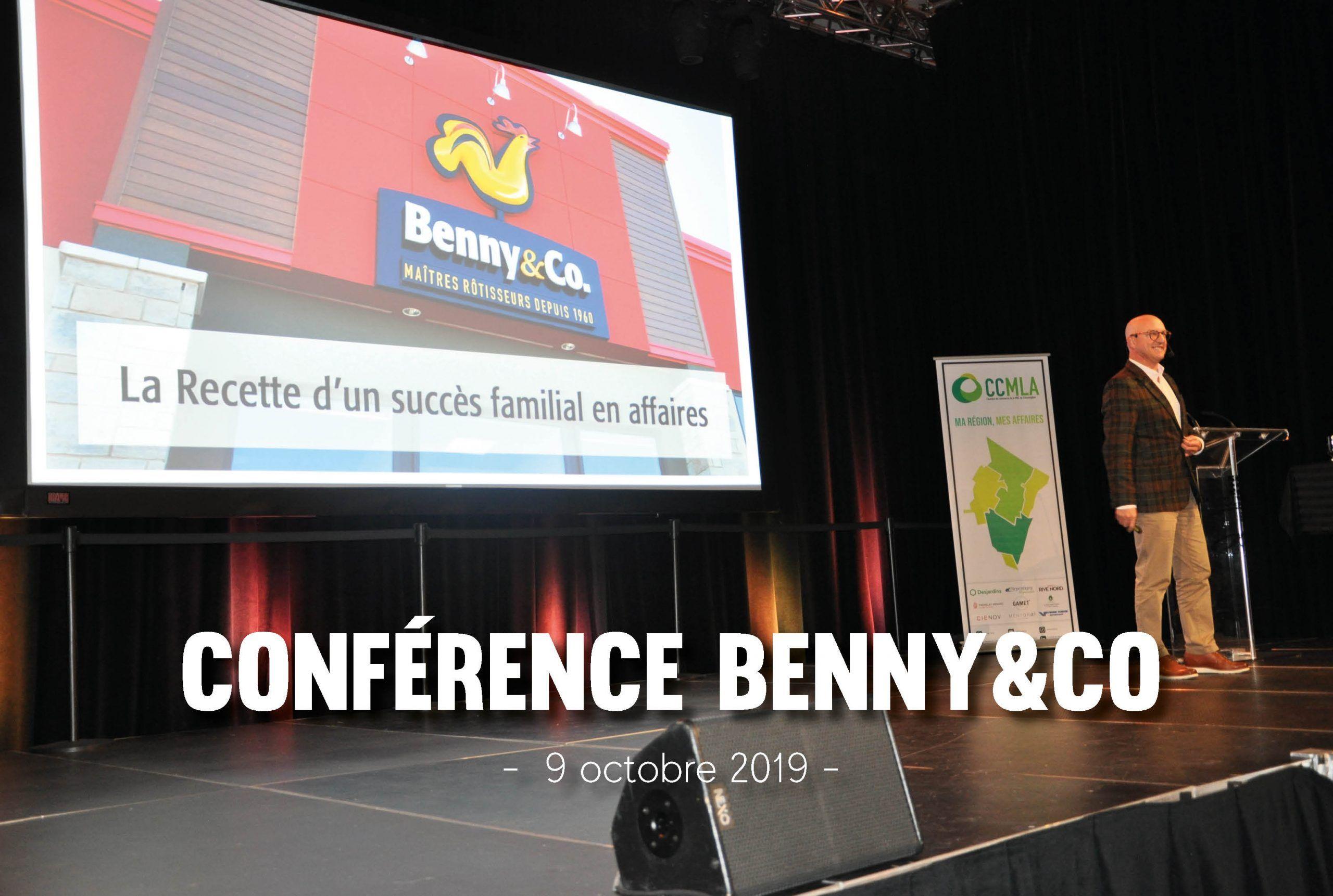 Conférence Benny&CO