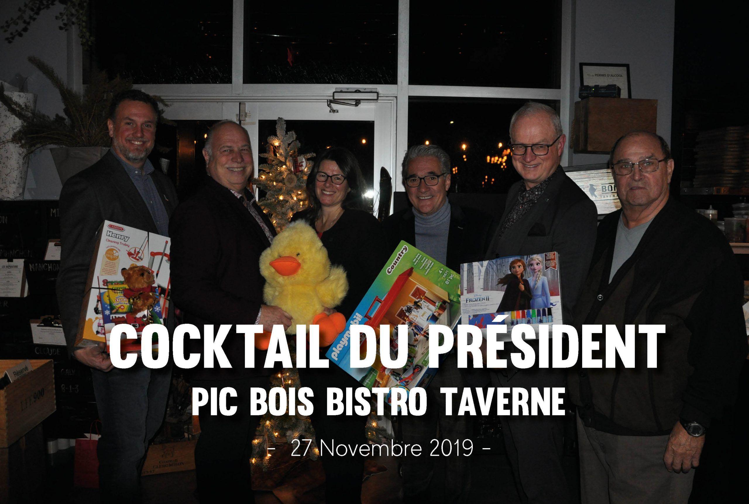 Cocktail du président – Pic Bois Bistro Taverne