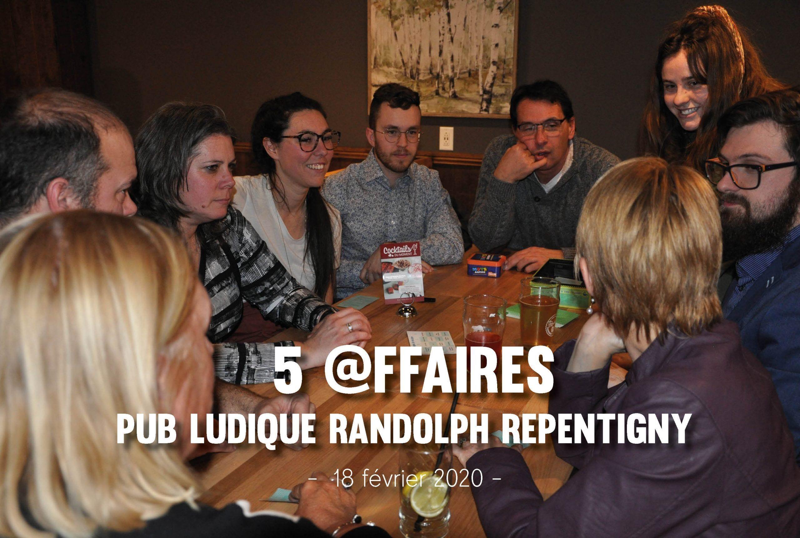 5 @ffaires – Randolph
