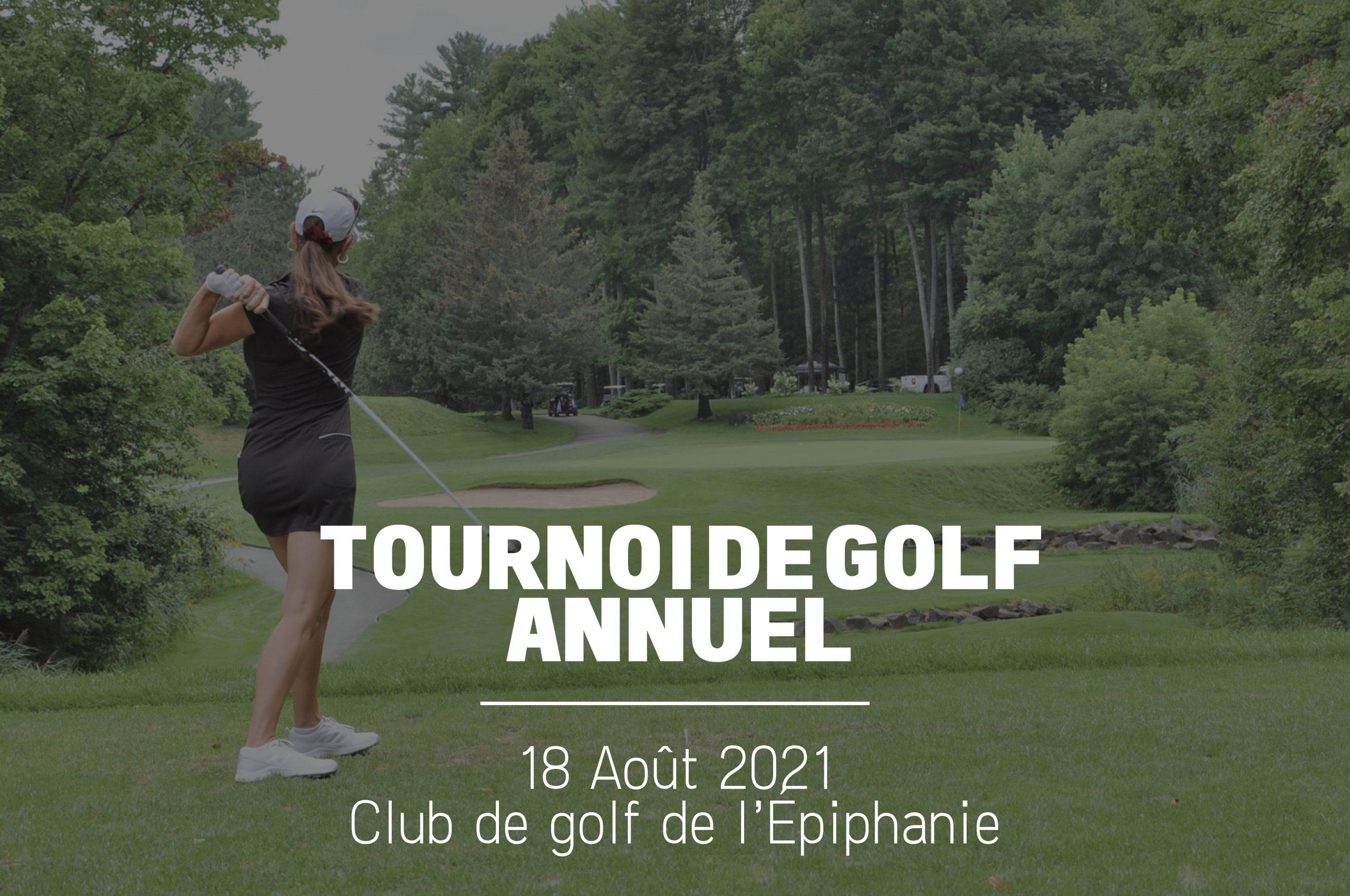 Tournoi de golf 2021