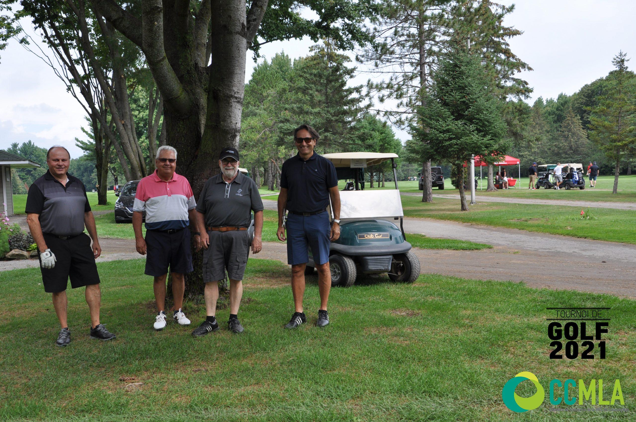 Golf2021 - Quatuors
